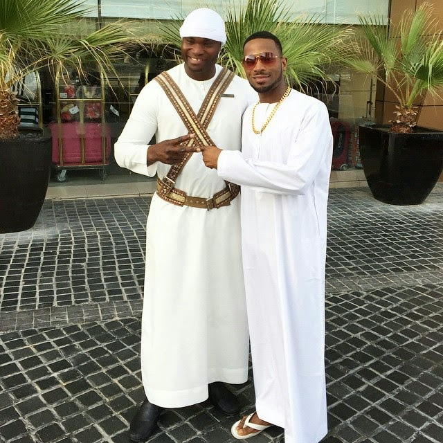 Dbanj  Lands Dubai with Grand Style