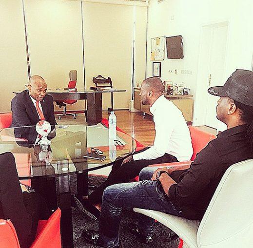 Peter and Paul meet Tony Elumelu