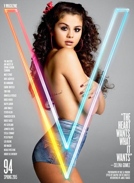 Selena Gomez V Magazine Cover 467