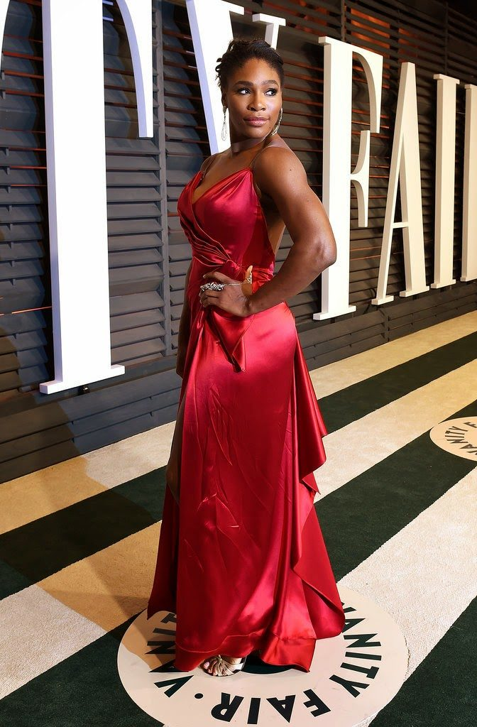 Serena Williams at the Vanity Fair Party 2015