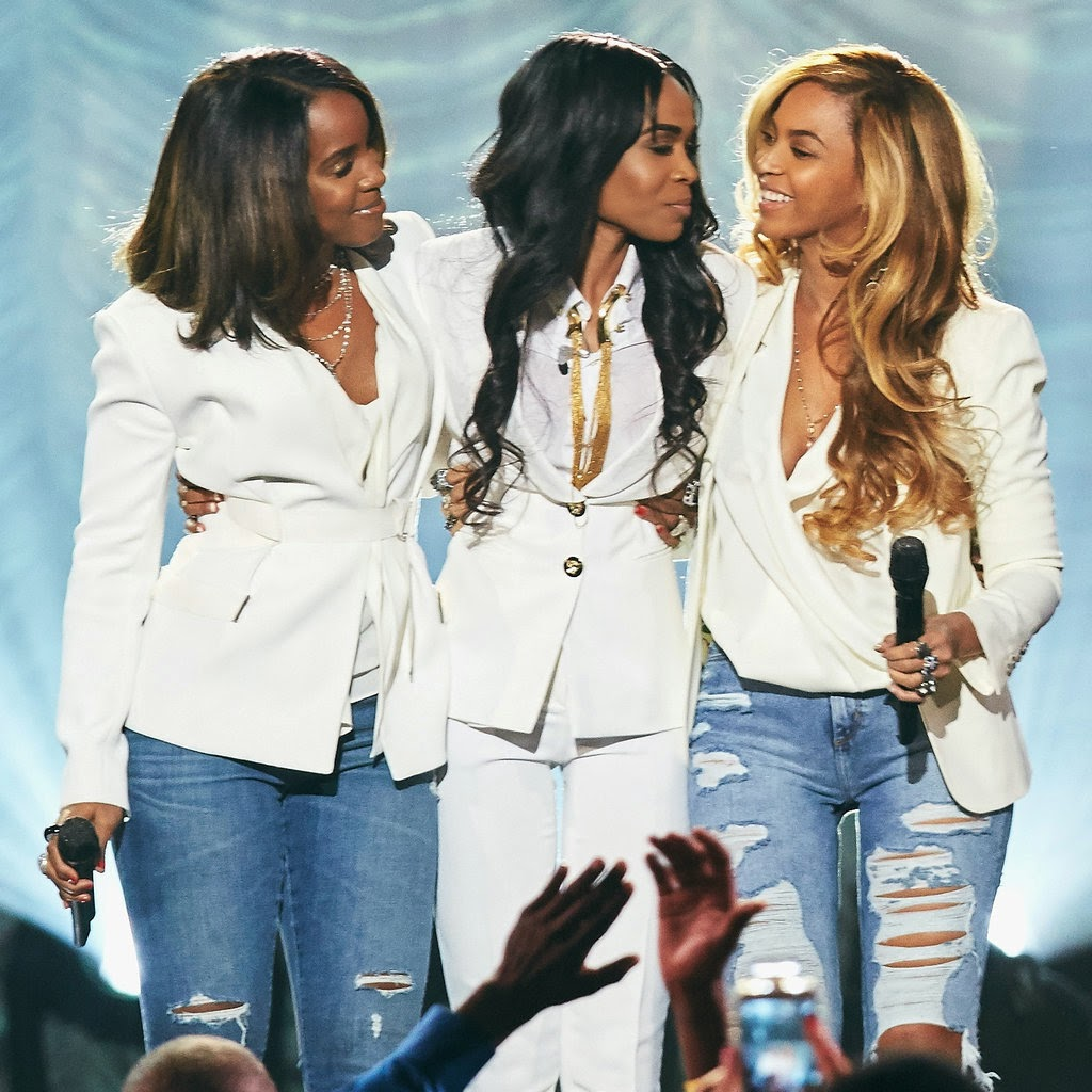 Destiny Child Reunited on stage at the Stellar Awards in Las Vegas