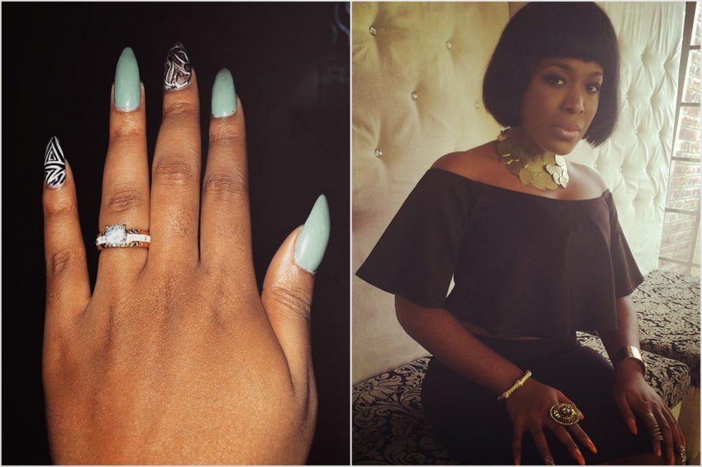Moet Abebe is Engaged