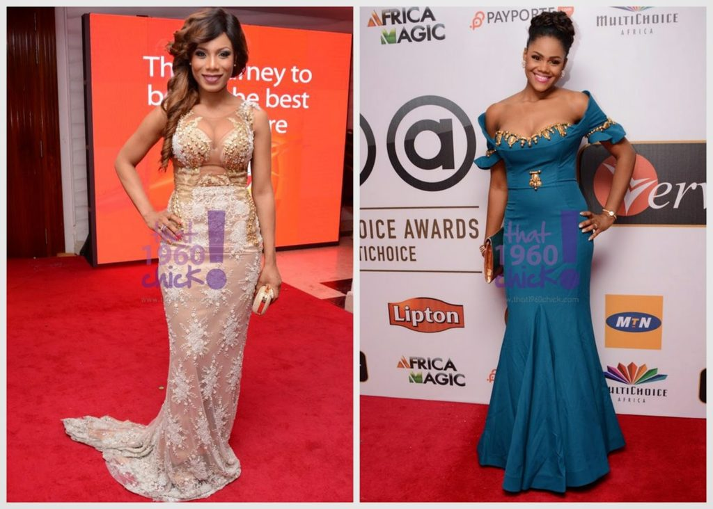 Pics of Female Celebritieshout Bra at the AMVCA 2015