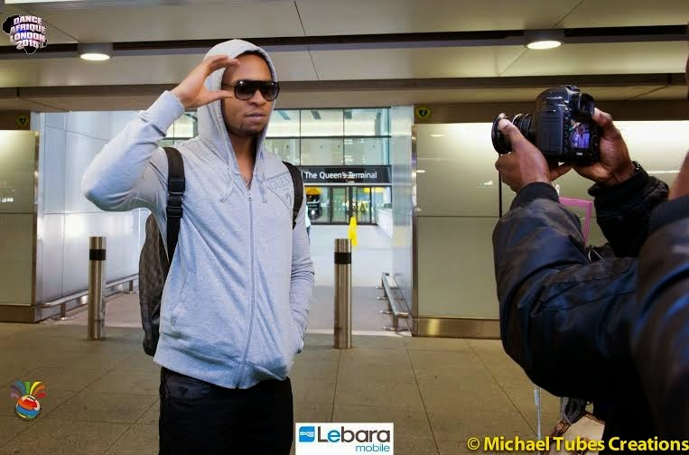 Flavour Arriving Heathrow Airport London This Morning