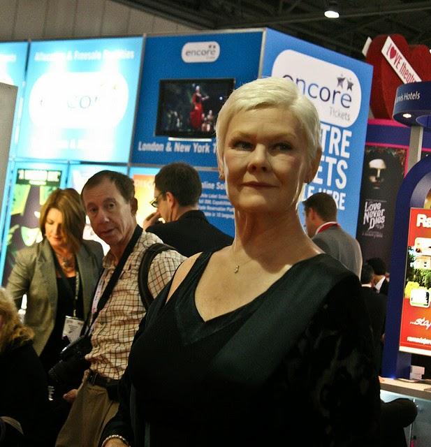 Dame Judi Dench-retirement isn't in  my vocabulary