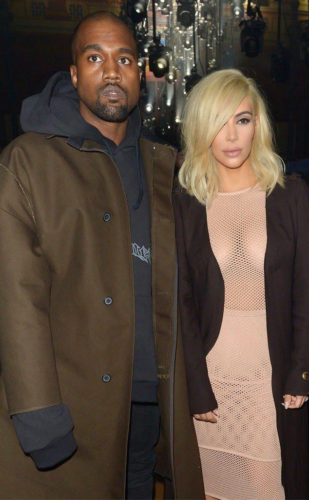 Kim Kardashian West nude and Braless