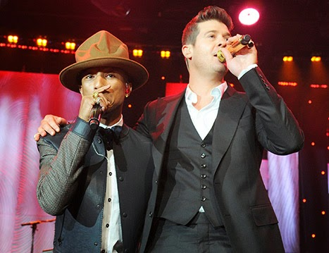 Pharrell Williams and Robin Thicke Ordered to pay Marvin Gaye's Family $7.3 million