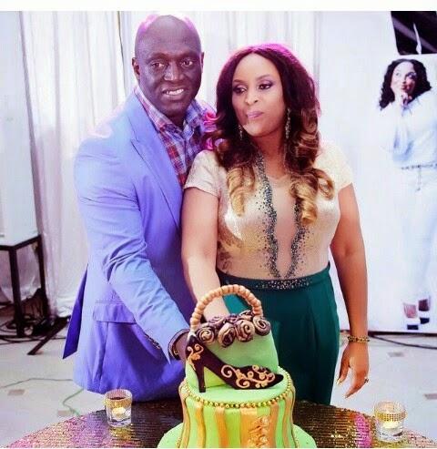 Sammie Okposo's wife's 40th birthday party