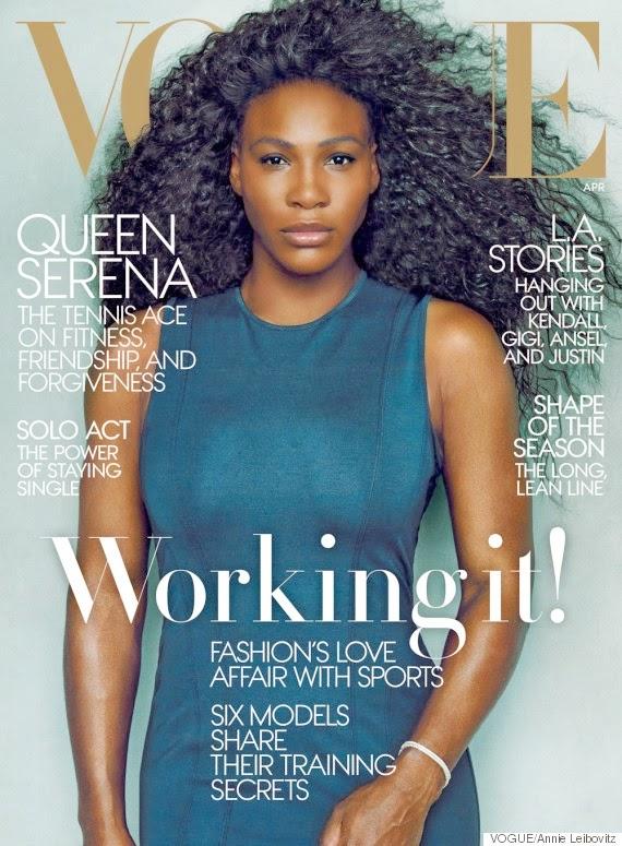 Serena Williams Dazzles for Vogue Magazine