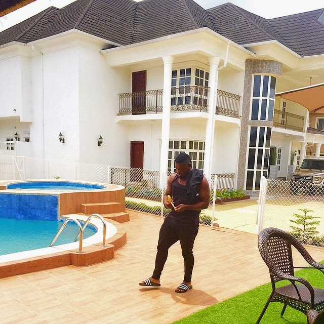 Timaya Shows Off His House