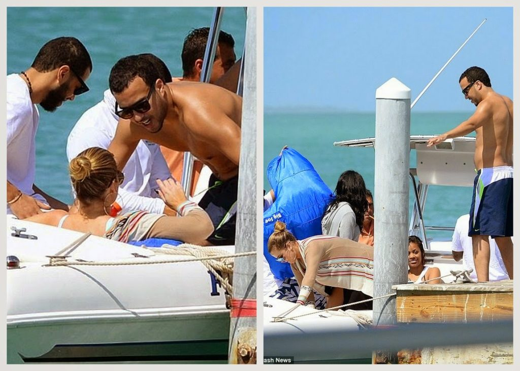 Khloe Kardashian & French Montana  beach holiday