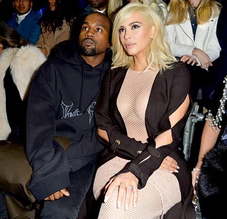Kim Kardashian West braless and nipples
