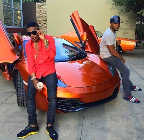 Behind-the-scene pics from Wizkid's video shoot today