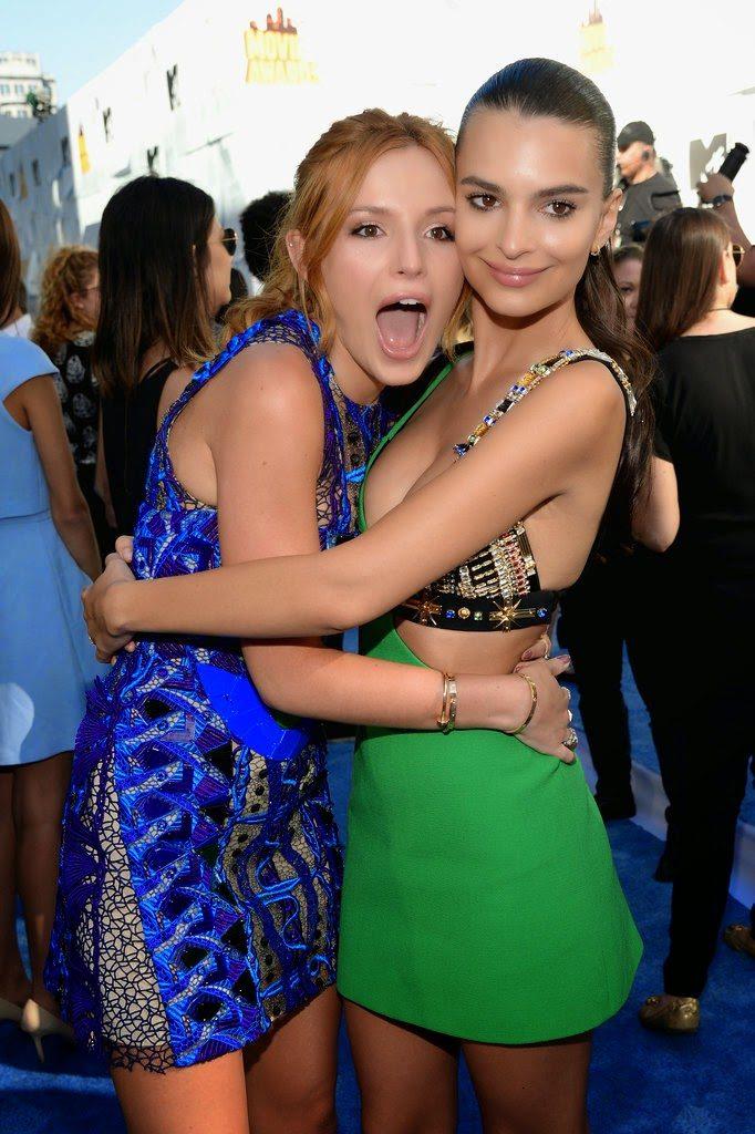 Bella Thorne and Emily Ratajkowski