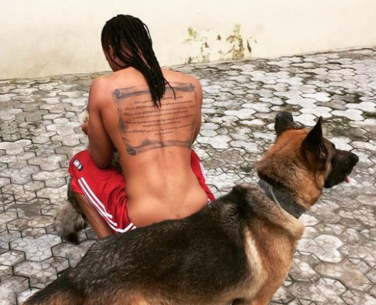 Flavour shares another interesting photo on instagram