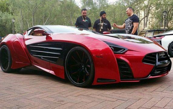 French Montana 2.5 million Luxury car