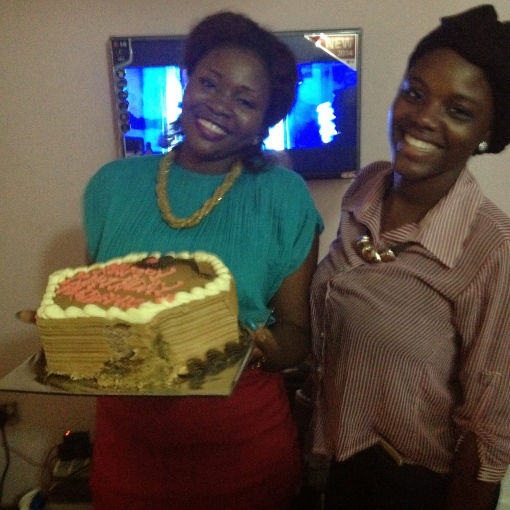 Gbemie and BFF Bolade