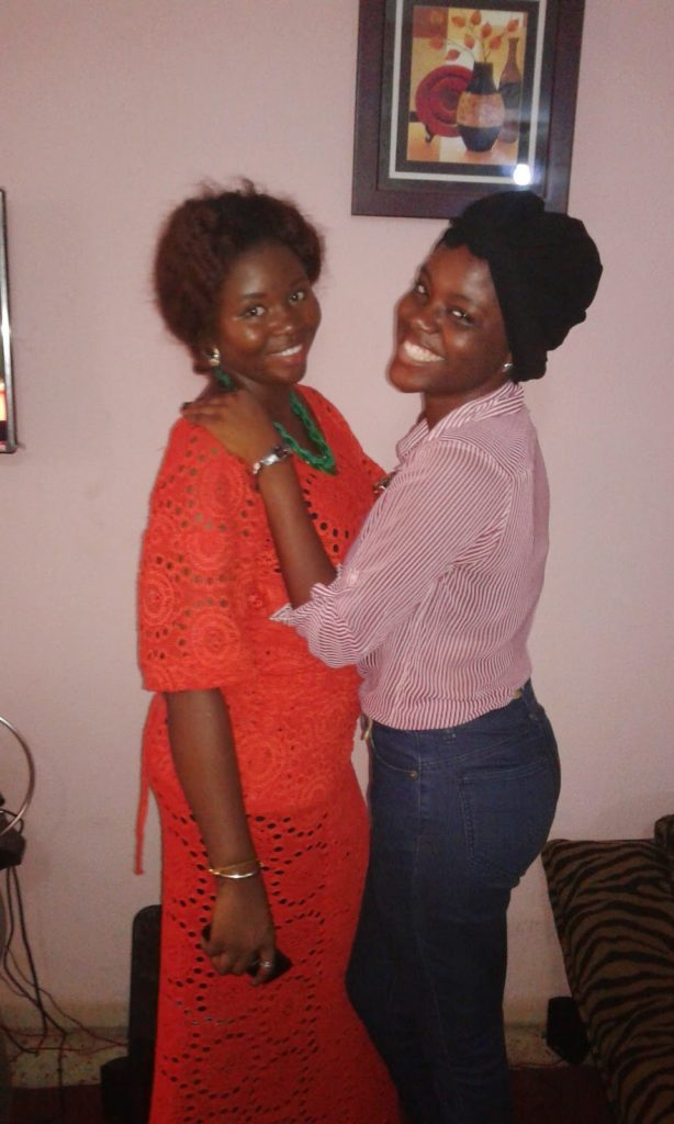 Gbemisola and BFF Bolade