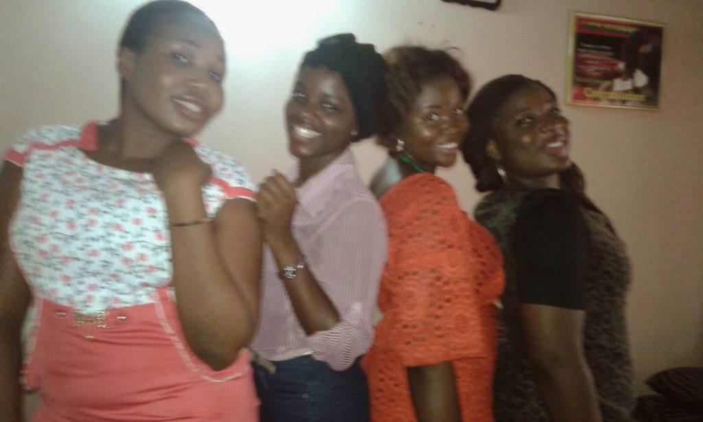 Gbemisola and her Besties