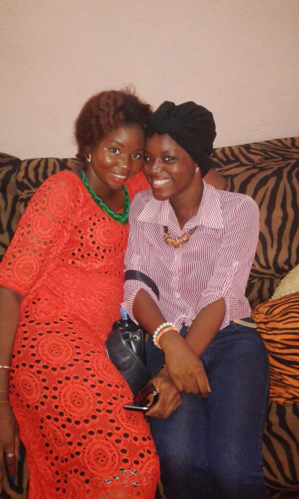 Gbemi and BFF Bolade