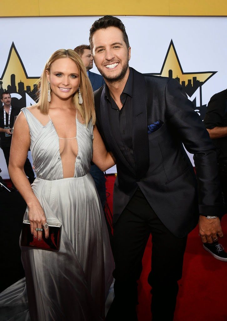 Miranda Lambert and Luke Bryan