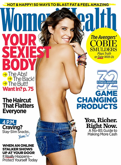 Cobie Smulders Goes Topless