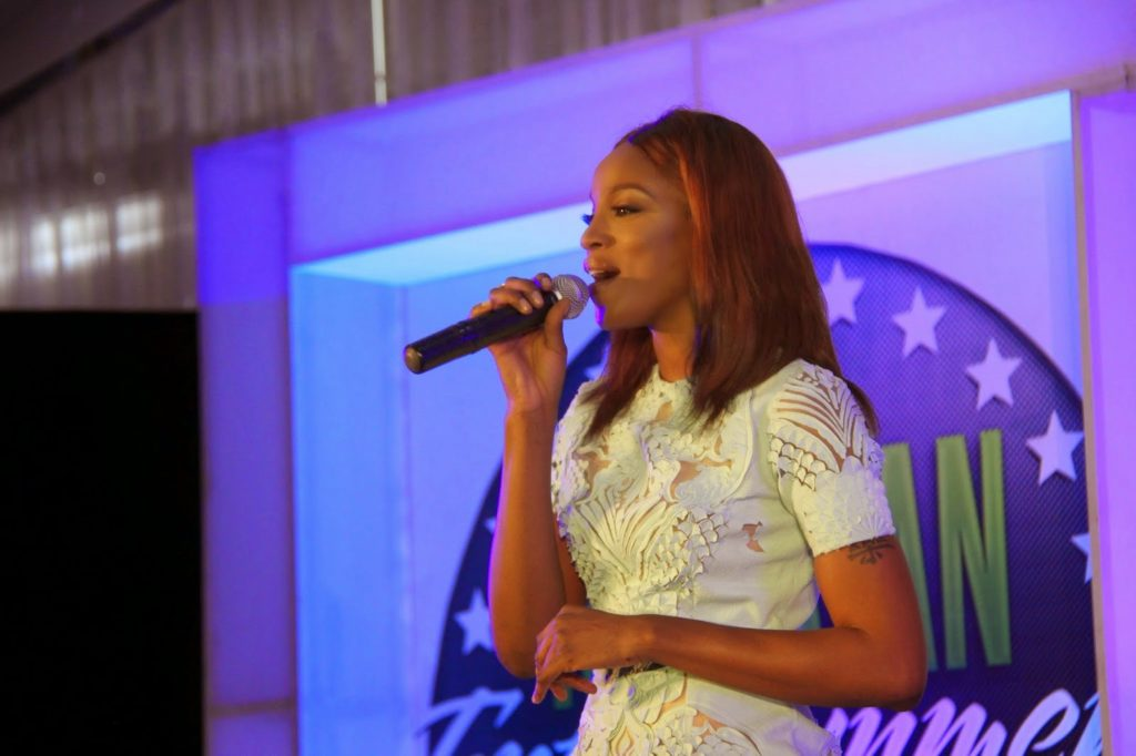 Seyi Shay  at the Nigerian Entertainment Conference