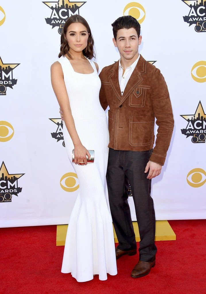 Olivia Culpo and Nick Jonas