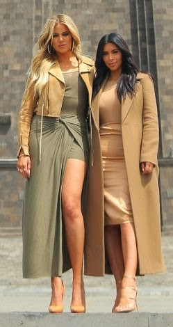 Photos of  Kim & Khloe's touring Armenia and meeting Prime Minister Hovik Abrahamyan yesterday