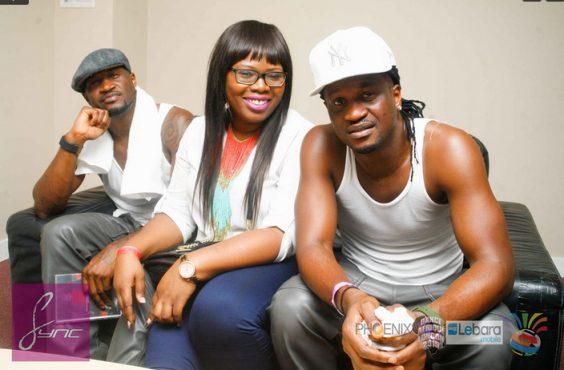 Photos of Pregnant Tiwa Savage, P-Square, Flavour at Dance Afrique 2015