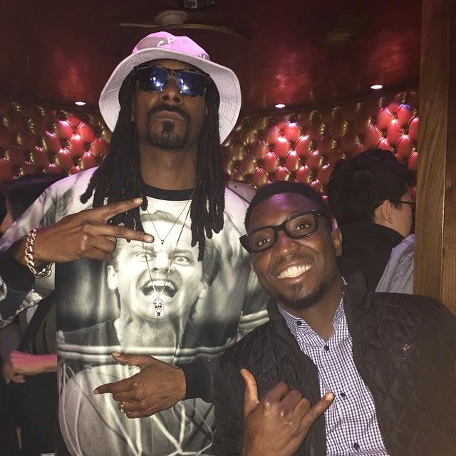 Timi Dakolo Parties With Snoop Dogg