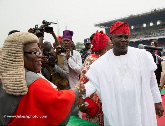Akinwunmi Ambode's swearing in as Lagos governor