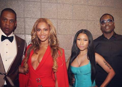 Check Out A-list Celebrities like Beyonce,Jayz, Nicki Minaj flood Mayweather vs Pacquiao fight