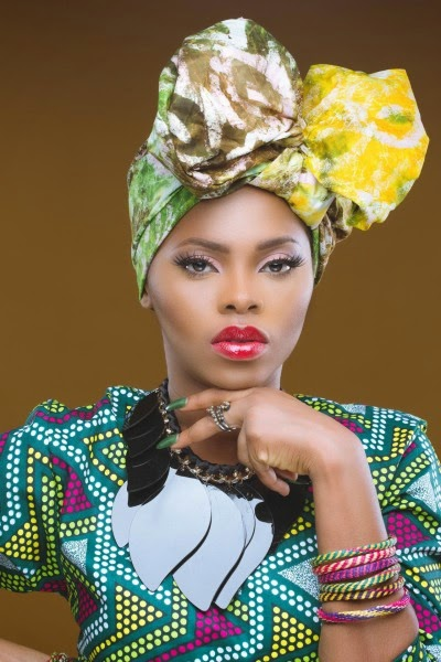 Chidinma's Fabulous New Photos In African Prints as She Turns a Year Older