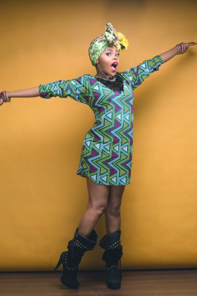 Check Out Chidinma's Fabulous New Photos In African Prints as She Turns a Year Older