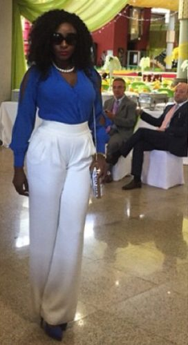 Ini Edo Hot and Sexy as she attends inauguration