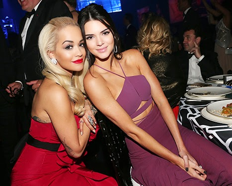 Kendall Jenner hung out with half-brother Rob Kardashian's ex Rita Ora during the 2015 Cannes  Film Festival