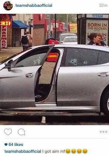 Photos from Crime Scene on Queens Street,where Chinx Drugz was killed