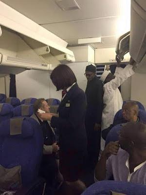 President-Elect Muhammadu Buhari On His Way Back To Nigeria(Photos)