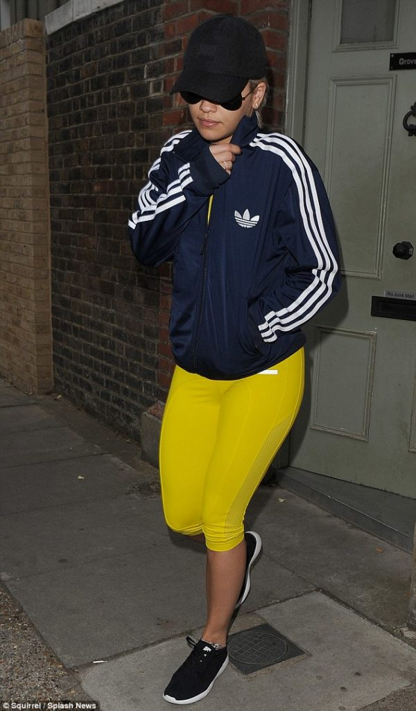Rita Ora Hides Face From Paparazzi After A$AP Rocky Labelled Her A B***h