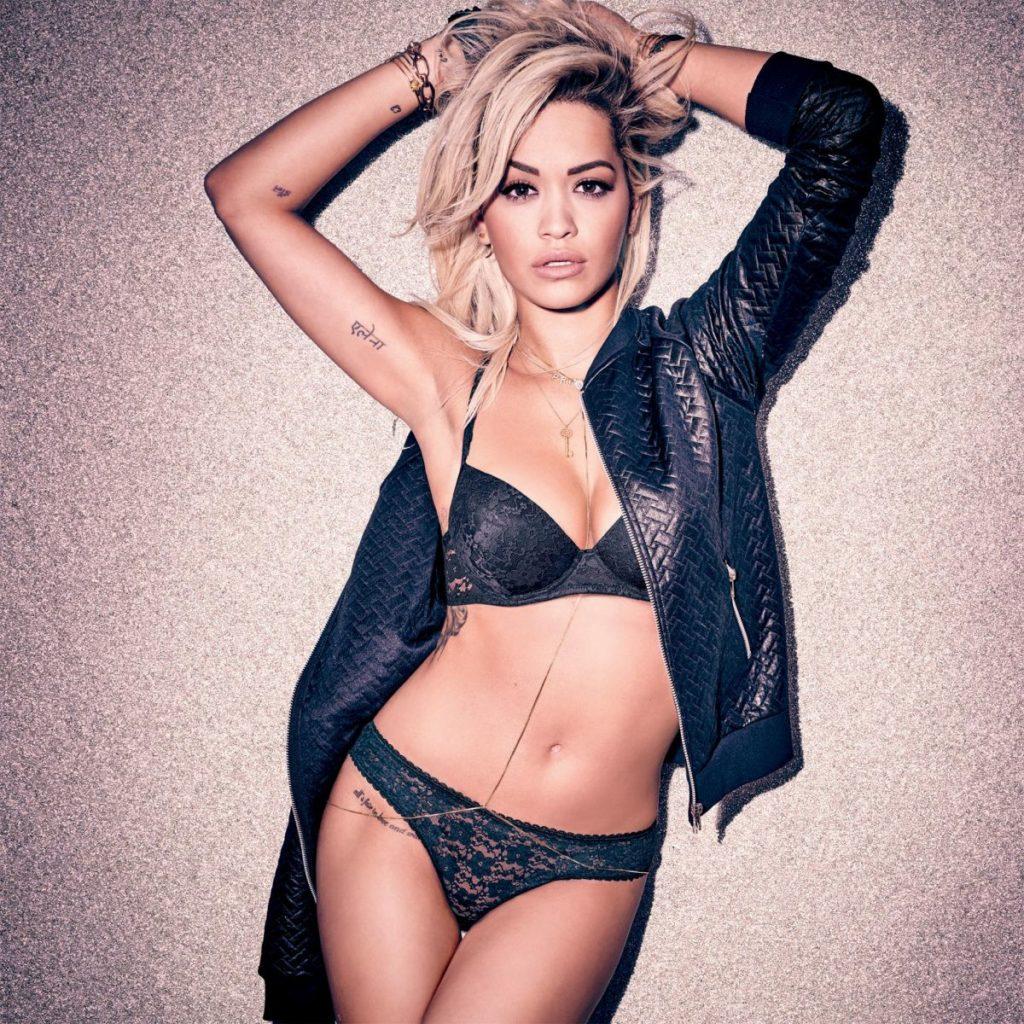 Rita Ora Poses Nude On Instagram