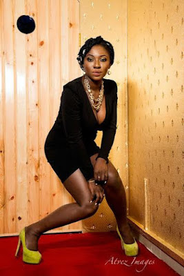 Actress, Movie Producer,Yvonne Jegede Stunning and Sexy in New Photoshoot