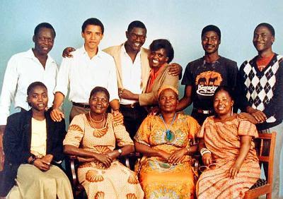 Obama and his kenya relatives