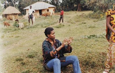 Michelle Obama in kenya