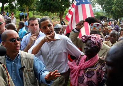 barack obama and his grandma