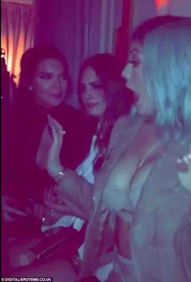 Kylie Jenner fondle her breast at Paper Town Movie Premiere