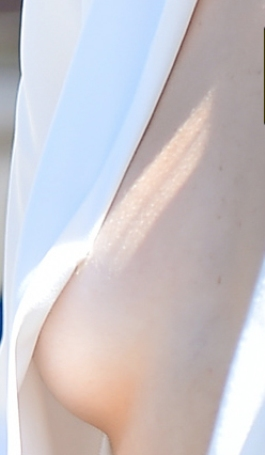 Kendall Jenner Goes Braless and display her Boobs