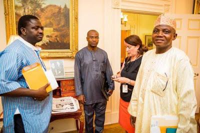 President Buhari Inside the Historic Blair House