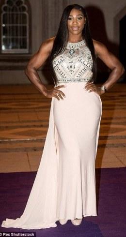 Queen of England Grass Court Tennis,Serena Williams super sexy at Wimbledon' Champions dinner