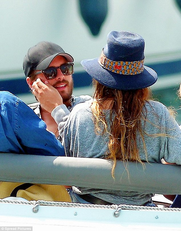 Scott Disick spends another day with rumoured ex hloe Bartoli in France(Photos)